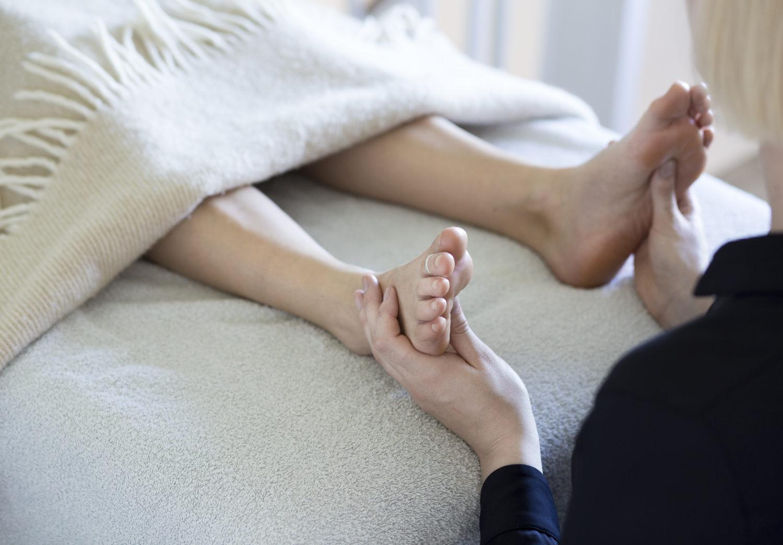 Zoneterapi fødder
